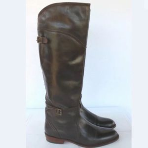 Frye Brown Ridding Boots Like new Sz 9